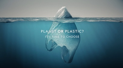 National Geographic Cover - June 2018 - Plastic or Planet