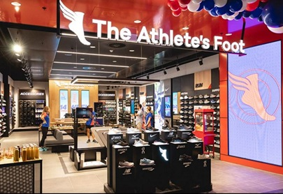 Over 1.5 million of Australians shop for shoes each month. Customers of The Athlete's Foot are the most satisfied