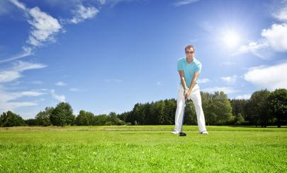 golfer-on-green