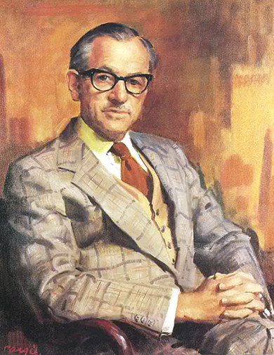 Roy Morgan by Sir William Dargie CBE
